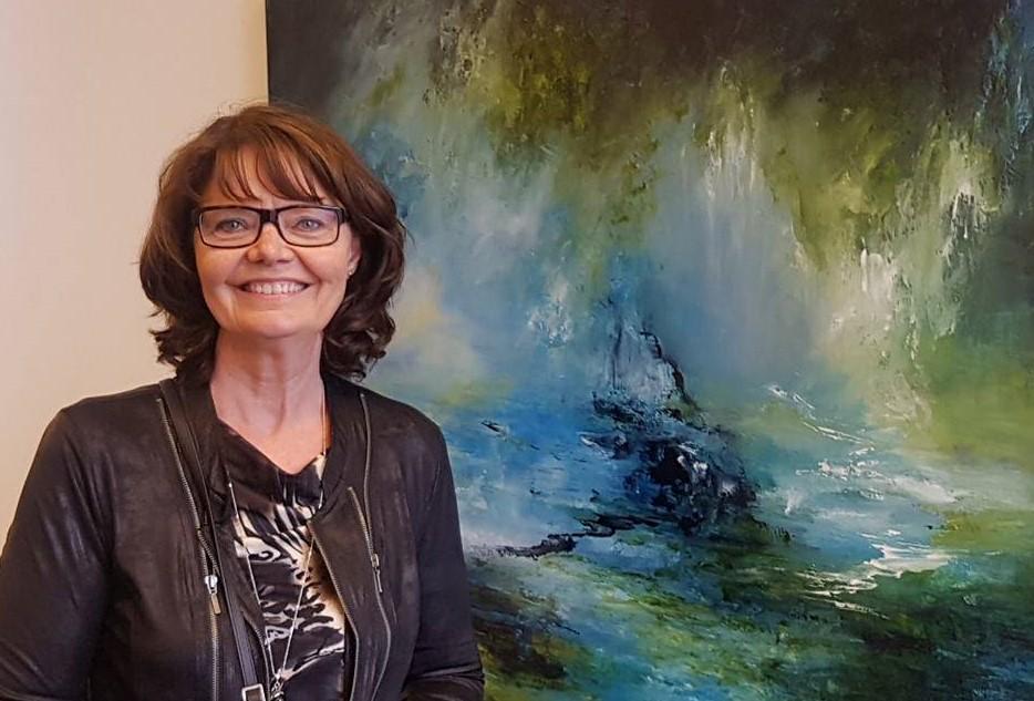 myndlistarmaðurinn Ingibjörg Ottósdóttir